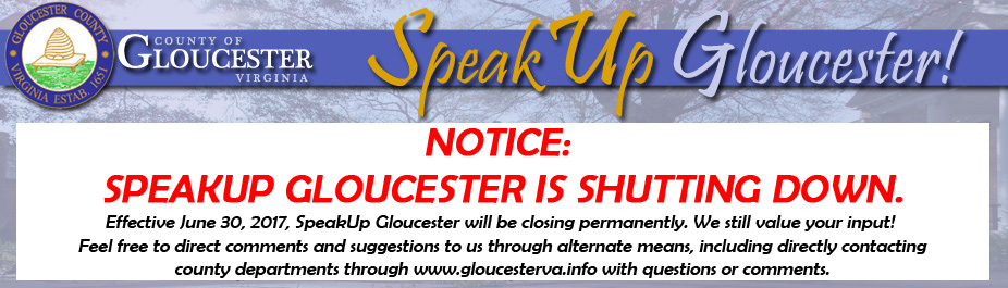 SpeakUp Gloucester