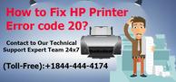 Fix HP Printer Error code 20